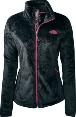 Cozy up in the super-soft warmth of the Women's Osito 2 Jacket from The North Face. A 65-denier, 100% polyester silken high-pile fleece shell offers a luxurious plush feel, while the 93/7 polyester/spandex TKA Superstretch four-way-stretch lining provides outstanding breathable comfort.