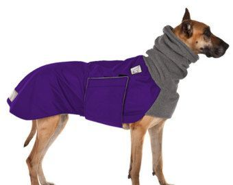 GREAT DANE Winter Dog Coat, Winter Jacket, Waterproof Dog Coat, Fleece Dog Snood, Ear Warmer, Neck Warmer, Dog Hood, Dog Clothes, Clothing