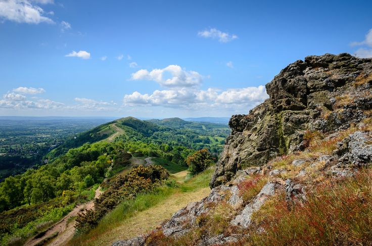 Summer on the Hills - The Malvern Hills in the summer