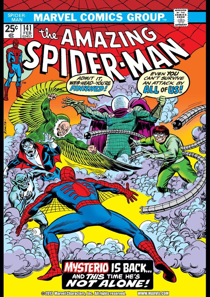 The Amazing Spider-Man (1963) Issue #141 - Read The Amazing Spider-Man (1963) Issue #141 comic online in high quality