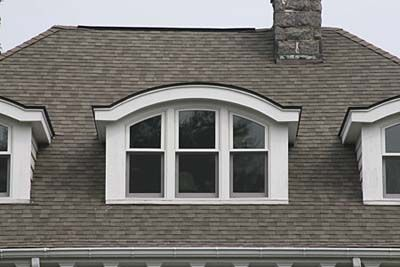 Eyebrow Dormer - Have a low upward curve with no distinct vertical sides