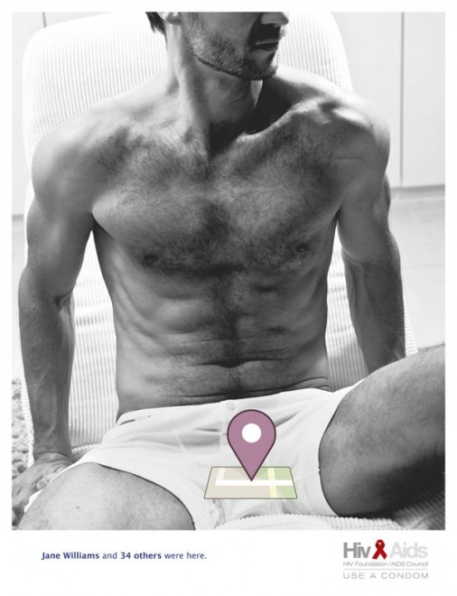 Anti Aids Campaign feat. Facebook Places. II: Advertising Agency, Art Director, Creative Advertising, Hiv Foundation Aid, Ads Campaigns, Funny Commercial, Hiv Aid, Foundationaid Council, Foundation Aid Council