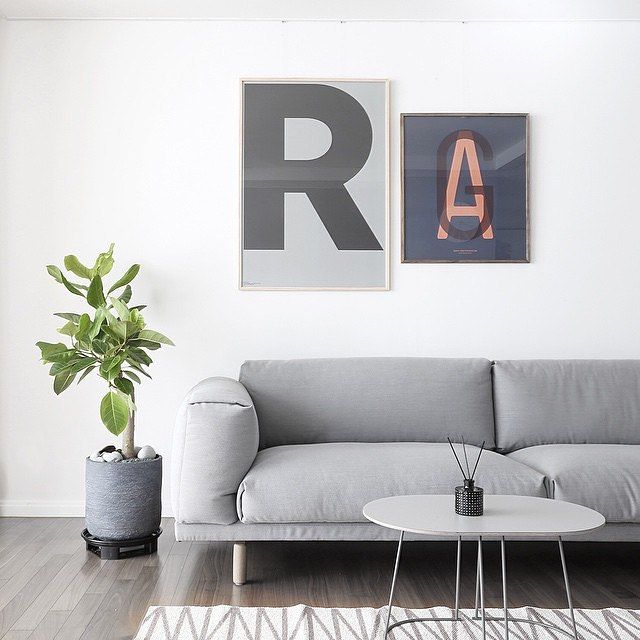 Tuesdayu0027s Is This Scandi Inspired Living Room With Different Shades Of Grey  In It. The REST Sofa And AIRY Table In Grey Are A Great Match. Lovely Image  By