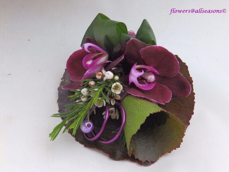 corsage bruidsboeket kleine orchidee