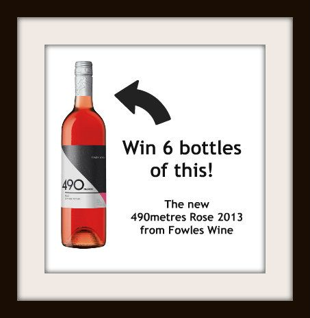 """You could #win six bottles of @FowlesWine 490Metres Rose 2013 just for doing our annual """"What Wine-Loving Women Want"""" survey 2013. Do it now!  http://svy.mk/1hBtMB6"""