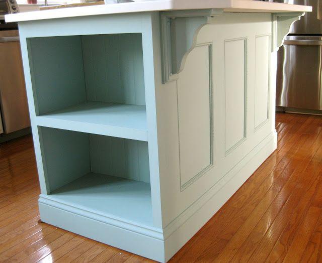 Kitchen Island Painted ASCP-Duck Egg Blue | Diy kitchen ...