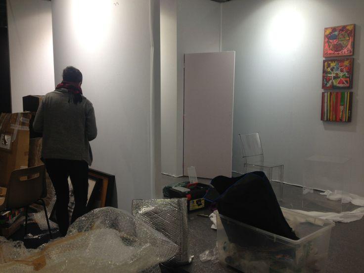 Colorfield Gallery à l'ART3F Mulhouse du 29 novembre au 1er décembre 2013.