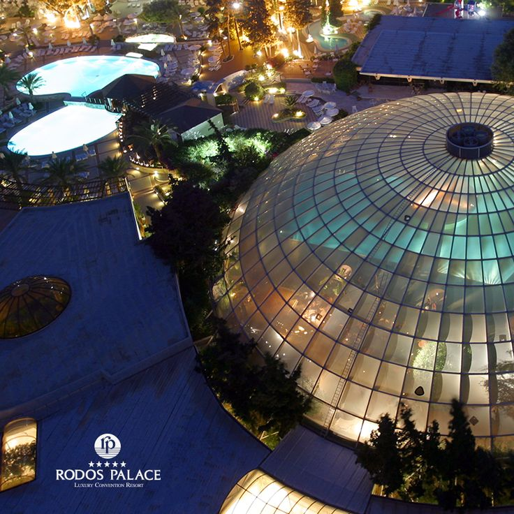 Dome Bar ...Panoramic.Night View - Only at Rodos Palace! ‪#‎dome‬ ‪#‎bar‬ ‪#‎panoramic‬ ‪#‎view‬ ‪#‎rodospalace‬