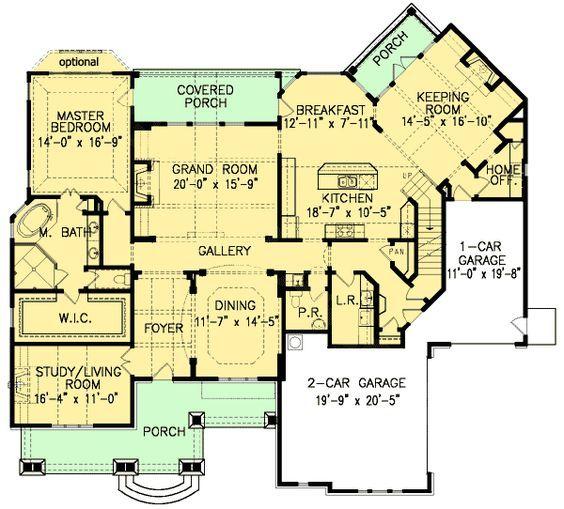 Plan Optional Fourth Bedroom Plus Bonus Rooms