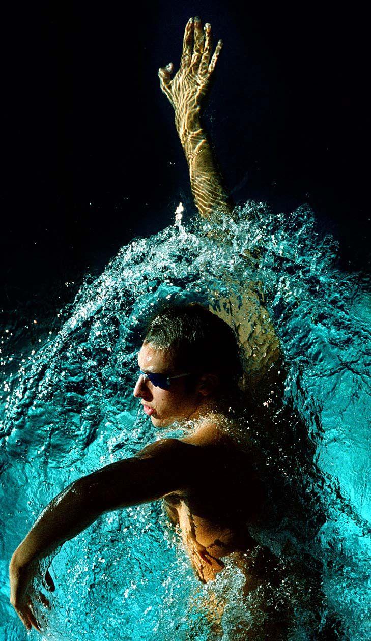 Ian Thorpe... Australia - former multiple World record holder & Olympic Gold medal winner