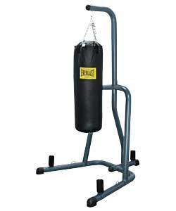 Everlast Boxing Heavy Punching Bag and Stand.