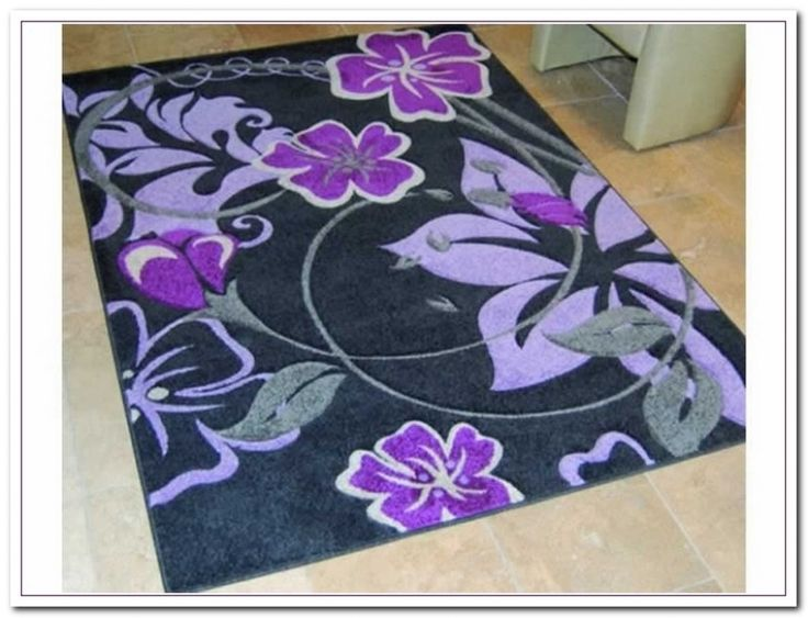 Purple Flower Rug purple flower rug Modern Purple Flower Rug Curtain Curtain Image Gallery 7z40eejp03