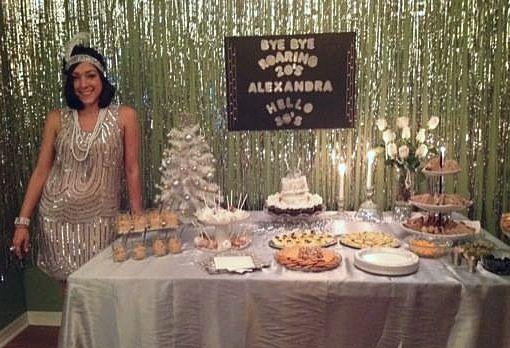 My Birthday Party / 30th birthday / gatsby / 1920's party / inspired / great gatsby / party / Alexandra Creations / fun / fiesta / roaring 20's / 1920