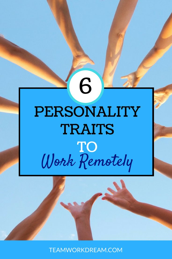 List of Personality Traits to Easily Work Online