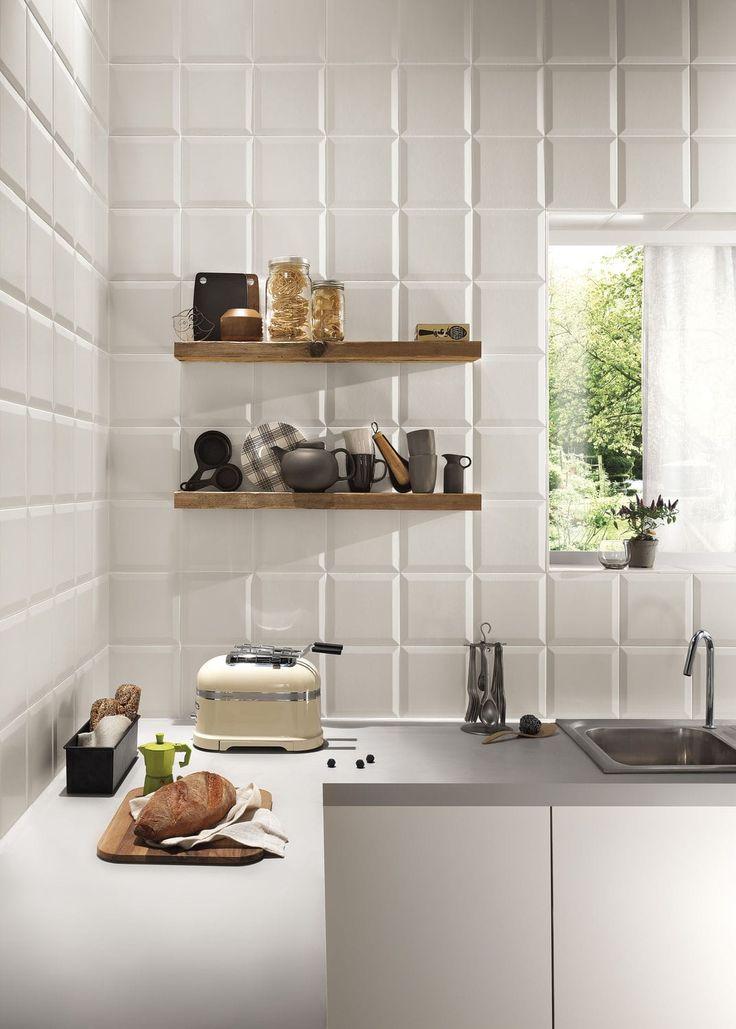 Bathroom tile / kitchen / wall-mounted / porcelain stoneware - LUMINA : FRAME - FAP ceramiche