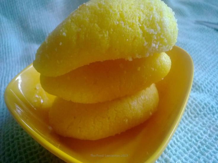 Chum Chum is a popular dessert to West Bengal in India...a tasty,juicy oblong of fresh,curdled milk,these oblongs are a delight.Check the recipe on this link.. http://thefoodsamaritan.com/chum-chumchom-chom/