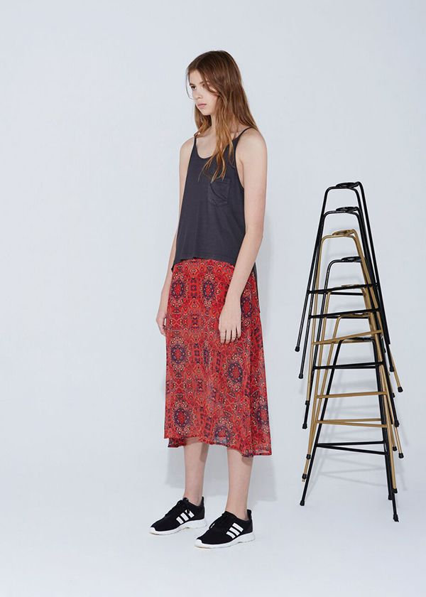 THE FIFTH - Age Of Aquarius Skirt - Moroccan Print