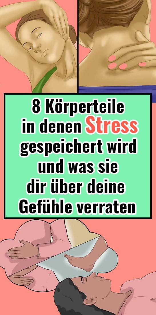 8 Körperteile, in denen Stress gespeichert wird und was sie dir über deine Gefühle verraten Anina Getze