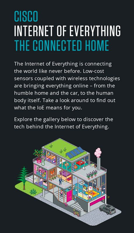 CISCO The Internet of Everything - The Connected Home (Wired UK)
