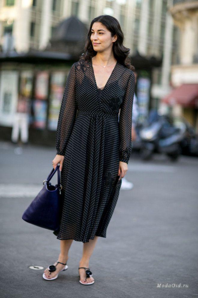 Уличная мода: Неделя высокой моды в Париже сезона осень-зима 2015-2016: уличный стиль