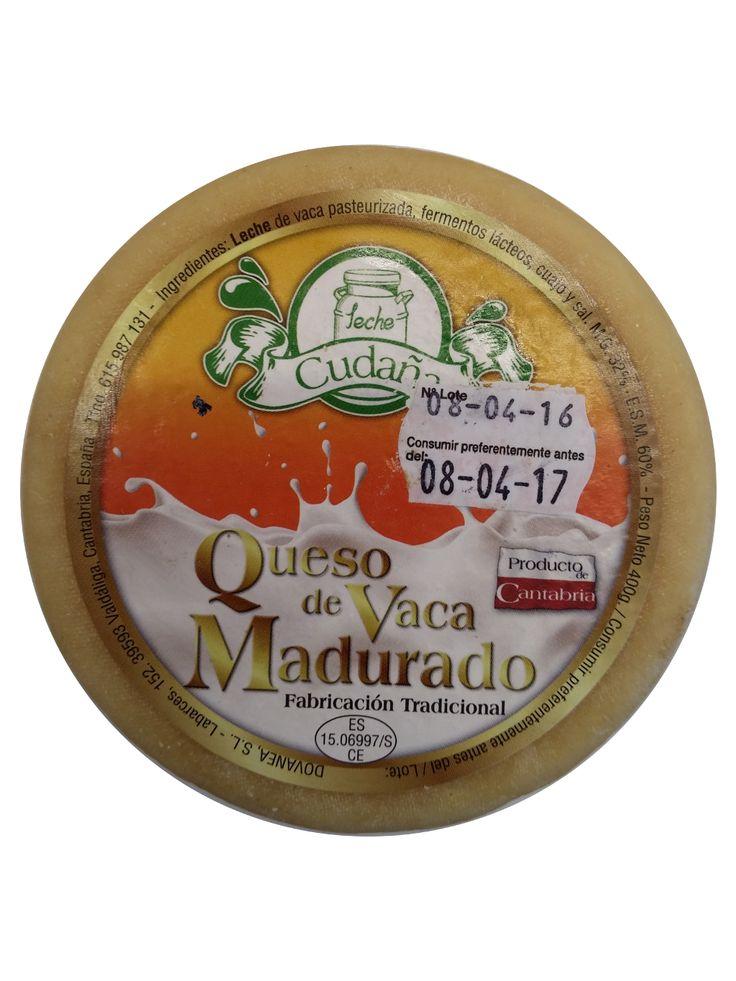 QUESO DE VACA MADURADO CUDAÑA, La granja Cudana esta situada en Labarces, a 10 km de San Vicente de la Barquera, 20 km de Cabezón de la Sal y 60 km de Santander