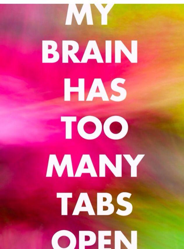 Too many tabs open...