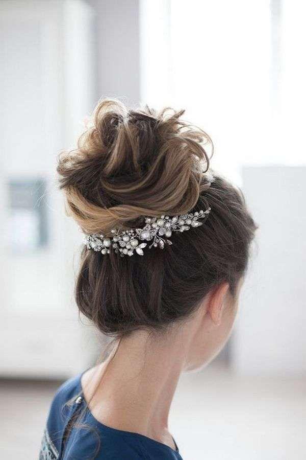 Idee per acconciature da sposa semplici (Foto) | Donna