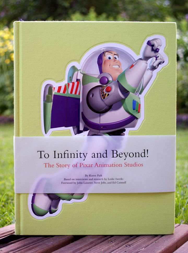 To Infinity and Beyond -kirja - Disnerd dreams