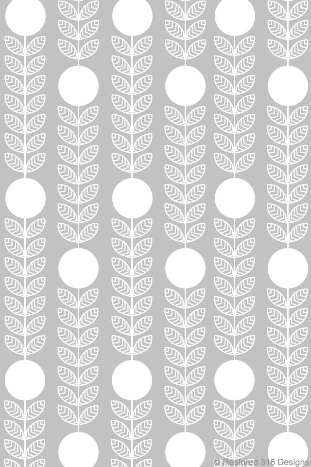 modern, mid century, design, print, pattern, grey, simple, abstract, modern floral, fabric, repeat pattern