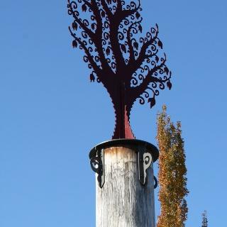 Cool ironwork in Ballard, Washington