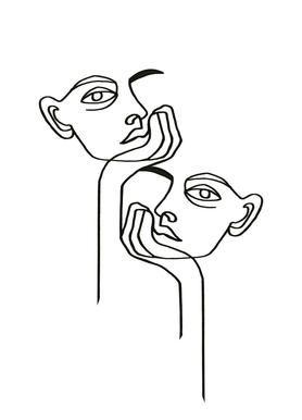 Boredom – Julia Hariri – Leinwandbild