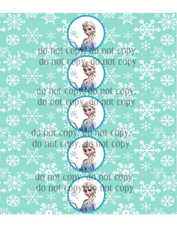Frozen Inspired Birthday Party Printables by CelebrationSmiles