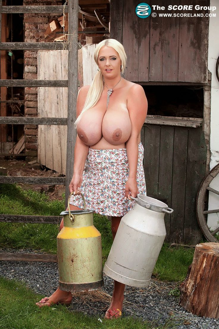 German boob milking consider