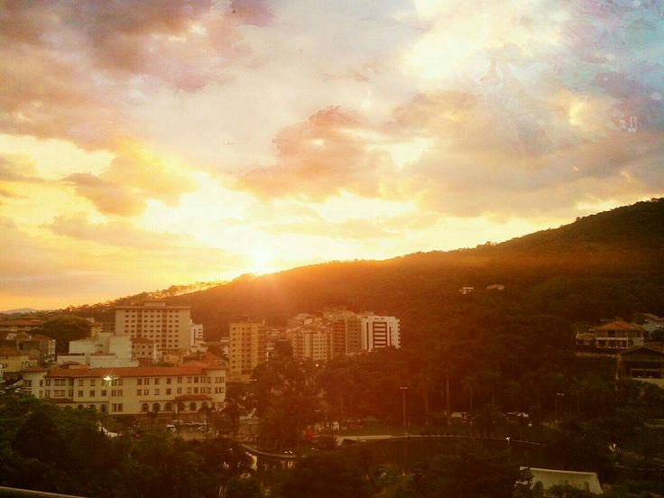 Maravilhosa vista do Hotel Monte Real Resort