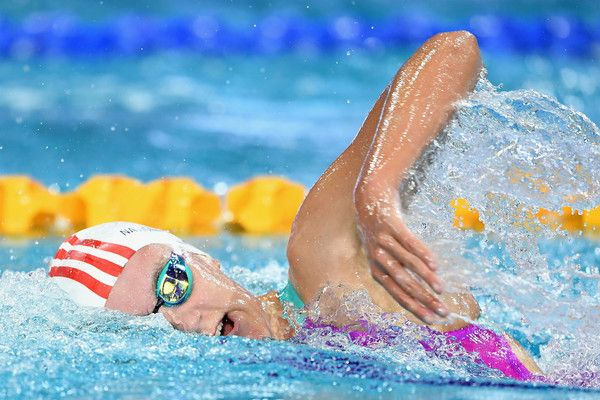 Mikayla Messer Photos Photos - Mikayla Messer of Australia competes in the Women's 1500m Freestyle during the 2017 Australian Swimming Championships at the Sleeman Sports Complex on April 12, 2017 in Brisbane, Australia. - 2017 Australian Swimming Championships