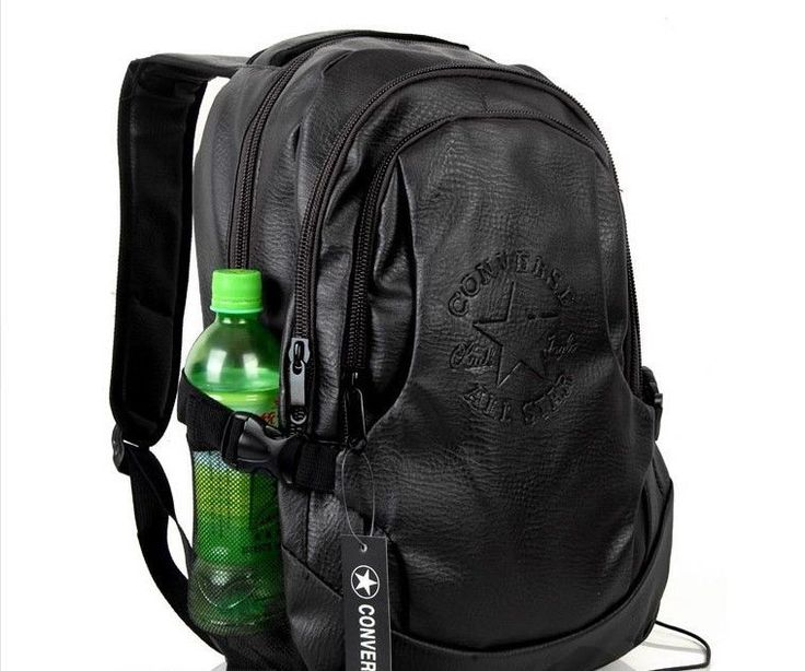 Converse Water Prove Faux Leather Unisex Backpack Bag
