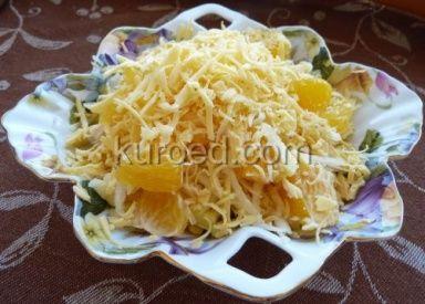 РЕЦЕПТЫ   Салат с курицей, сельдереем и апельсинами
