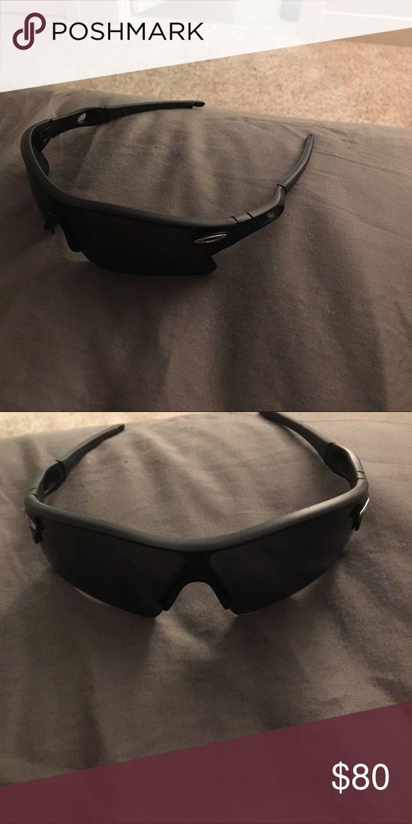 Oakley glasses Oakley glasses barely used. Black frame and lenses Accessories Glasses