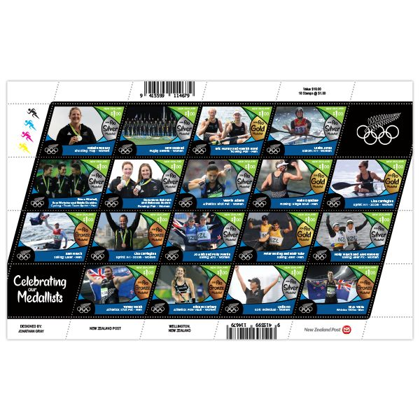2016 Road to Rio | New Zealand Post Stamps