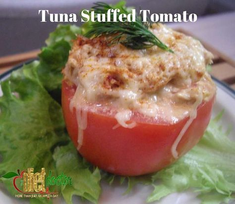 TUNA STUFFED TOMATOES (Ultimate Fat Burner)