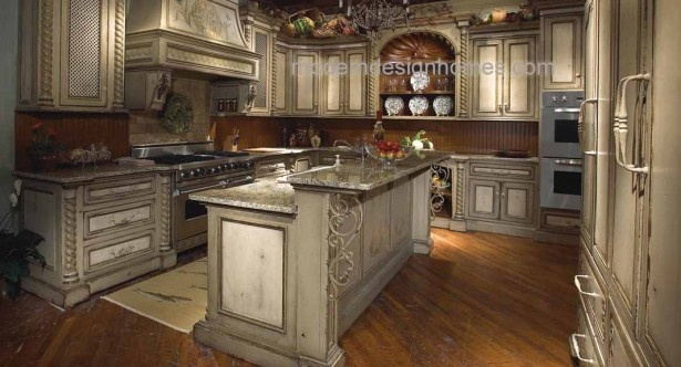 Striking Tuscan Kitchen : Striking Tuscan Kitchen Picture