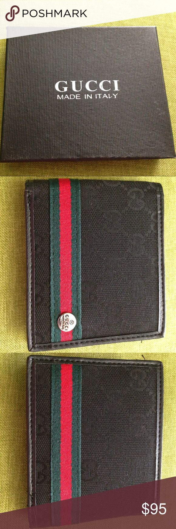 Back to school! Gucci mens wallet. Brand new! Gucci mens wallet. Never been used. It is a gift from a friend. Gucci Bags Wallets