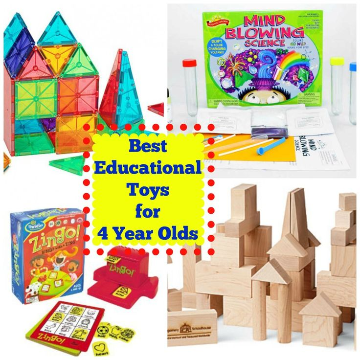 Best Educational Toys for a 4 Year Old