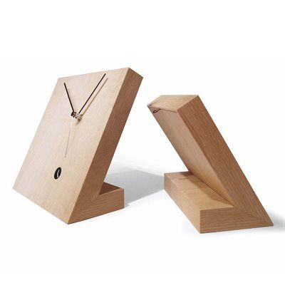 WS Bath Collections Tact 25 Tothora Table Clock