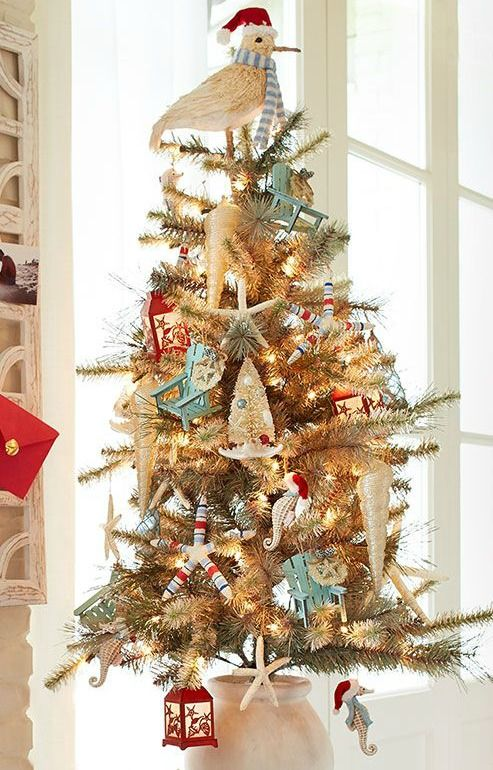 beach christmas tree decorations at pier 1 coastal christmas decor pinterest coastal christmas beach christmas and christmas - Coastal Christmas Decor