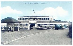 Old open air swimming pool, Burntisland