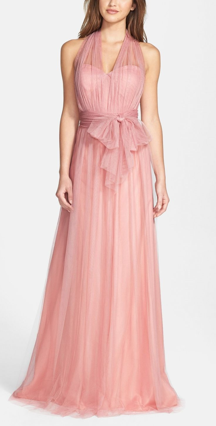 So many colors, so many ways to wear this gown