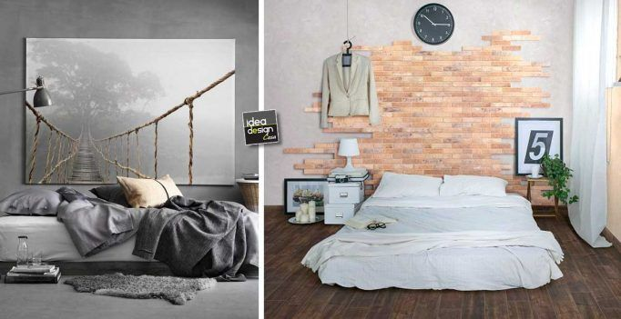 130 best Idee per la camera da letto images on Pinterest  Room, Bedroom ideas and Home