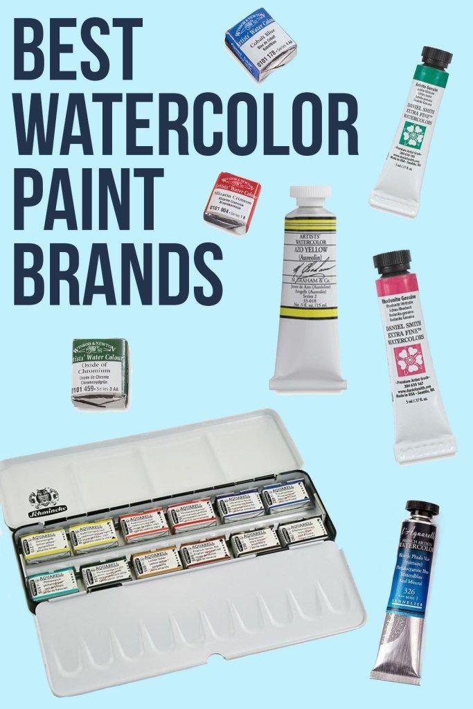 Best Watercolor Paint Brands Paint Brands Watercolour Painting