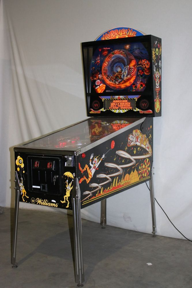 Hurricane Flipper Pinball von Williams F0632